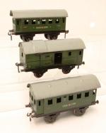 Bing Spur 0 Lot 100 Güterwagen Viehwagen